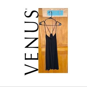 Venus Swimsuit Coverup, Black, Large